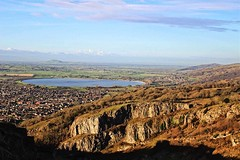 View from Cheddar Gorge overlooking Chew Valley Lake. (mikhaela94) Tags: gorge sunny lake gloucester gloucestershire scenery view england somerset cheddargorge cheddar chewvalleylake chewvalley