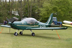G-CJTX Evektor EV-97 Eurostar (graham19492000) Tags: pophamairfield gcjtx evektor ev97 eurostar
