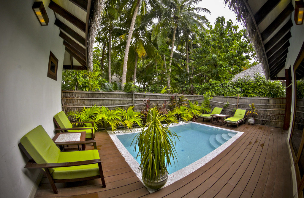 Garden Villa with Pool - Terrace