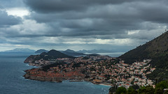 Dubrovnik on cloudy day (dwb838) Tags: water dubrovnik 16x9 landscape clouds