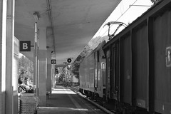 stresa #1 (train_spotting) Tags: stresa lineadelsempione dbcargoitaliasrl lenord ferrovienordmilano nordcargo traxxf140dc e4831075nc bombardier nikond7100