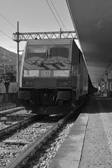 stresa #2 (train_spotting) Tags: stresa lineadelsempione dbcargoitaliasrl lenord ferrovienordmilano nordcargo traxxf140dc e4831075nc bombardier nikond7100
