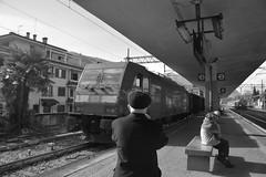stresa #3 (train_spotting) Tags: stresa lineadelsempione dbcargoitaliasrl lenord ferrovienordmilano nordcargo traxxf140dc e4831075nc bombardier nikond7100