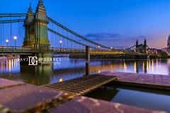 Hammersmith Bridge (III) - London, UK (davidgutierrez.co.uk) Tags: london photography davidgutierrezphotography city art architecture nikond810 nikon urban travel color night blue photographer tokyo paris bilbao hongkong uk bridge londonphotographer twilight bluehour colors colour colours colourful vibrant england unitedkingdom 伦敦 londyn ロンドン 런던 лондон londres londra europe beautiful cityscape davidgutierrez capital structure britain greatbritain d810 arts landmark attraction historic reflection iconic icon touristattraction riverthames hammersmithbridge street streetphotography tamronsp2470mmf28divcusdg2 2470mm tamron streets tamronsp2470mmf28divcusd tamron2470mm