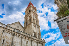 Cathedral of St. Lawrence (Krzysztof Bergier) Tags: cathedral lawrence church trogir croatia hrvatska history travel architecture tower chorwacja