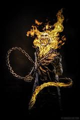 i am the god of hellfire, and i bring you...fire! (Godriguezart) Tags: antihero autoportrait chains fire gjostrider godriguez godriguezart hell hellfire johnnyblaze markrodriguez marvelcomics motorcyclerider piritofvengeance scull selfportrait selfportraiture selfie selfy