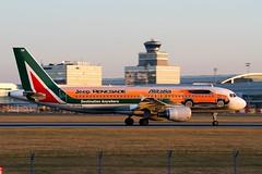A320 Alitalia EI-DSW 3 (matousek1199) Tags: lkpr livery a320 airliner rwy24 pragueairport prague jeeprenegade
