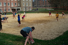 Cornell University, May 2019 (floppydamage) Tags: volleyball beach volley students sport cornelluniversity northcampus 50mm summicron summicronm v3 leicamdtyp262 md street streetphotography