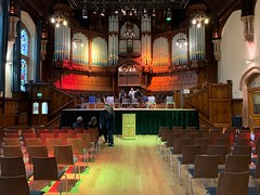 Derry Guildhall before rehearsal for Handel's Messiah with Altnagelvin Hospital Choir (John D McDonald) Tags: iphone iphonexr appleiphone appleiphonexr building architecture organ pipeorgan civicorgan concertorgan derry londonderry guildhall derryguildhall londonderryguildhall northernireland ni ulster geotagged