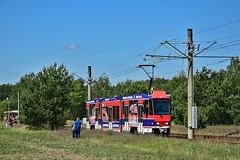 Tatra KTNF6 #138 CV Cottbus (3x105Na) Tags: tatra ktnf6 138 cv cottbus strassenbahn strasenbahn tram tramwaj deutschland germany niemcy