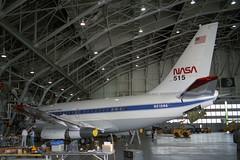 N515NA Boeing 737-130 NASA (pslg05896) Tags: lfi klfi langley n515na boeing737 nasa