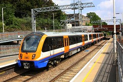 Testing at Upper Holloway (Chris Baines) Tags: london overground 710 emu working willesden barking upney junction test