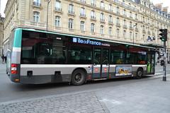 MAN Lion's City standard, # 9853, RATP/Régie Autonome des Transports Parisiens, additionnal Île de France Mobilités markings, dowtown Paris, close by St Lazare railway station, 2019-05-05. (alaindurandpatrick) Tags: man manlionscity buses masstransit masstransitcompanies ratp régieautonomedestransportsparisiens îledefrancemobilités masstransitauthorities paris 75 seine greaterparisarea îledefrance france