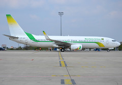 5T-CLE, Boeing 737-88V(WL), 61353 / 6144, Mauritania Airlines International, CDG/LFPG, 2019-04-14, Quebec ramp at Terminal 3. (alaindurandpatrick) Tags: 613536144 5tcle 737 738 737800 737nextgen boeing boeing737 boeing737800 boeing737nextgen jetliners airliners l6 mai mauritaniaairlinesinternational airlines cdg lfpg parisroissycdg airports aviationphotography