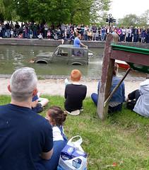 4 x float (stevenbrandist) Tags: suzuki sj water float 4x4 car canal moiracanalfestival