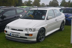 Ford Escort RS Cosworth (CA Photography2012) Tags: newbyhallsportscarsinthepark ca photography automotive exotic car spotting automobile vehicle carshow cars k2jlr