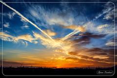 Ηλιοβασίλεμα στη Θεσσαλονίκη (Spiros Tsoukias) Tags: hellas ελλάδα μακεδονία θεσσαλονίκη ουρανόσ σύννεφα ήλιοσ ηλιοβασίλεμα διακοπέσ αεροπλάνα sunset sun sky clouds sunrise nature trees rivers lakes sea vacation tramonto sole cielo nuvole alba natura alberi fiumi laghi mare vacanza coucherdesoleil soleil ciel nuages leversdesoleil arbres rivieres lacs mer vacances sonnenuntergang sonne himmel wolken sonnenaufgang natur baume flusse seen meer urlaub