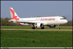 """AIRBUS A320 214 """"Air Arabia"""" CN-NMF 4539 Entzheim avril 2019 (paulschaller67) Tags: airbus a320 214 airarabia cnnmf 4539 entzheim avril 2019"""