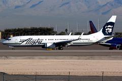 Alaska Airlines | Boeing 737-900 | N319AS | Las Vegas McCarran (Dennis HKG) Tags: aircraft airplane airport plane planespotting canon 7d 100400 lasvegas mccarran klas las alaska alaskaairlines asa as usa boeing 737 737900 boeing737 boeing737900 n319as