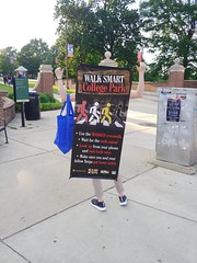ITA_IDC_SHA_UMDWalksmartRt1_051719_06 (Idle Time Ads) Tags: streetteam publicoutreach itapromotions idletimeadvertising maryland washington dc virginia pedestriansafety collegeparkwalksmart universityofmaryland sha mdot