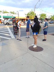 ITA_IDC_SHA_UMDWalksmartRt1_051719_04 (Idle Time Ads) Tags: streetteam publicoutreach itapromotions idletimeadvertising maryland washington dc virginia pedestriansafety collegeparkwalksmart universityofmaryland sha mdot