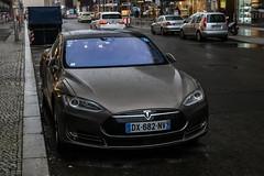 France (Bourg-en-Bresse) - Tesla Model S (PrincepsLS) Tags: france french license plate 01 bourgenbresse germany berlin spotting tesla model s