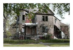 Post No Bills (TooLoose-LeTrek) Tags: detroit abandon urbandecay globalism house hood neighborhood xt3 fuji
