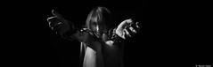 Manon (BenoitGEETS-Photography) Tags: manon bn bw nb nikon noiretblanc d610 2470 tamron prisonnière prisoner chain chaine menotte
