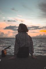 JGDP_7276 (jgdp892) Tags: portraiture candids seaside sunset people strangers family skies clouds sea streetphotography landscape seascape nikond7200 sigma1835 kids ferriswheel
