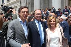 Los senadores Rafael Hernández, Pio Garcia Escudero y Salome Pradas, serán propuestos como representantes del Partido Popular en la Mesa del Senado