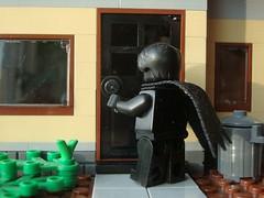 Back Door Man (reupload) (captain_j03) Tags: depression blackdog toy spielzeug 365toyproject lego minifigure minifig