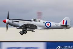 Supermarine Spitfire Mk XIX - Battle of Britain Memorial Flight (Aimeric D. Photographies) Tags: avion plane planes spotter airshow riat fairford