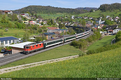 SBB Re4/4.11121 (Marco Stellini) Tags: sbb cff ffs re44 11121 interegio