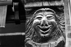 La Ferté-Bernard (Philippe_28) Tags: lafertébernard sarthe 72 france europe argentique analogue camera photography photographie film 135 bw nb maison colombage pansdebois