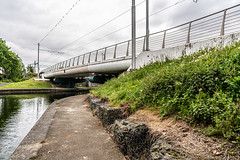 MANY DUBLINERS MAY BE UNAWARE THAT THE GRAND CANAL FORKED HERE [AT SUIR ROAD BRIDGE]-152762 (infomatique) Tags: grandcanal mainline circularline canallocks davittroad suirroad suirroadbridge grandcanalharbour jamessstreet anndevlin annedevlin dolphin'sbarn portobello dublin4 riverliffey luas redline publictransport tramline griffithbridge firstlock 7thlock canals bridges williammurphy infomatique fotonique sony a7riii zeissbatis batis zeiss 25mmlens ireland