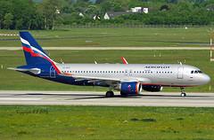 Airbus A320-214 VQ-BSU Aeroflot (EI-DTG) Tags: dusseldorfairport dus 14may2019 vqbsu aeroflot a320 airbus320