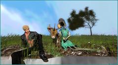 Raconte moi une histoire ... (Tim Deschanel) Tags: tim deschanel sl second life art exploration bryn oh the standby trilogy immersiva lapin rabbit