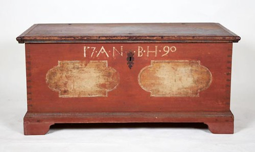 Paint decorated Pennsylvania Blanket Chest ($392.00)