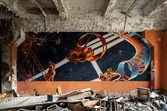 Duga, Tschernobyl. (maecces) Tags: lost lostplace urbex abandoned urbanexploration ukraine tschernobyl duga wandbild