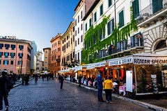 Roma (lucascobos) Tags: city italia roma rome piazza square street people colours coffe drink buildings
