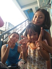 Ashley Herou and I (ghostgirl_Annver) Tags: asia asian girl boy teen preteen child kid daughter son sister brother family portrait happy
