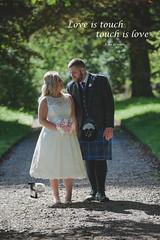 Touch (scrimmy) Tags: scotland wedding weddingphotography weddingdress bride groom