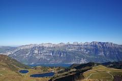 Churfirsten (Itzlä ° ~~~✈) Tags: flumserberg switzerland alps mountains 2018 itzlä pentaxk1 landscape sky churfirsten seebenalp grosssee