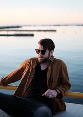 Rasmus. (PeeterTomson) Tags: fujifilm xt1 35mm f14 portrait sunset fujifeed noblessner tallinn eesti estonia summer sea baltic golden hour