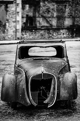 The Scream (Paul Timlett) Tags: bnw nikond850 blackwhite oradoursurglane monochrome 105mm france