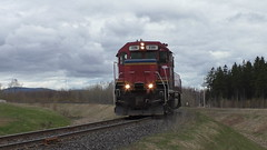 Lac Megantic Switcher (MaineTrainChaser) Tags: trains train cmq quebec