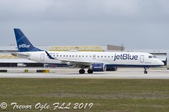 DSC_4144Pwm (T.O. Images) Tags: n265jb jetblue embraer e190 fll fort lauderdale