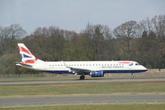 G-LCYK BA ERJ-190 (Vernon Harvey) Tags: edinburgh edi glcyk embraer erj190 ba cityflyer