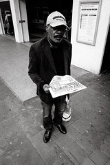 man with a paper (jrockar) Tags: street streetphoto streetphotography candid decisive moment instant jrocka janrockar london man newspaper paper bnw bw mono blackandwhite city urban olympus tg5 ordinary madness ordinarymadness
