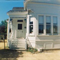 Santa Clara, California (bior) Tags: lomography babydiana 110film colortiger california dianababy house santaclara